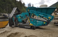Powerscreen mobile Siebanlage Warrior 600