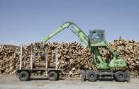 Sennebogen 723 Holzumschlagmaschine mobil