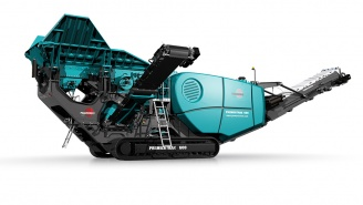 Powerscreen mobile Brechanlage Premiertrak-600